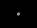 Prise de vue de Jupiter,  réalisée par Jean-François, à partir du terrain du Parc aux Etoiles le 04 mai 2018
