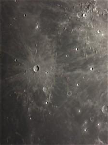 La Lune : cratère Kepler par Evelyne D.