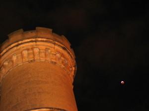 Eclipse de Lune depuis l'observatoire Camille Flammarion à Juvisy (91) par Gilles D.
