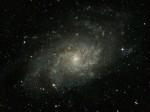 M33 (NGC 598) dans Le Triangle, magnitude 5,7, par Alain G.