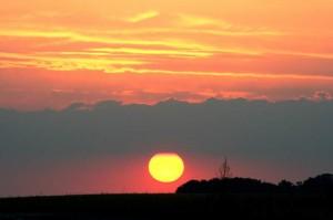 Coucher de Soleil par Sylvain G.