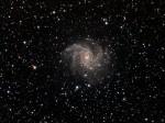 NGC6946 dans Céphée, magnitude 8,8 et distance estimée à 60 millions d'A.L., par Alain G.