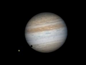 Transit de Ganymède devant Jupiter par Alain G.
