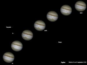 Opposition de Jupiter par Bernard et Michèle I.