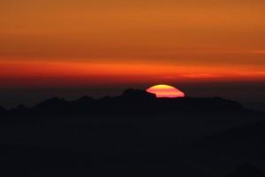 Coucher de Soleil au Pic du Midi par Francis L.