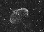 NGC 6888 Nébuleuse du Croissant dans le Cygne, par Monique Q.