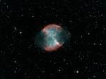 M27 (NGC 6853) dans Le Petit Renard, magnitude 7,3 par Alain G.